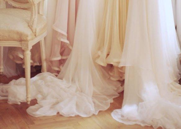 chiffon dress dresses neutral beige peach closet french laduree