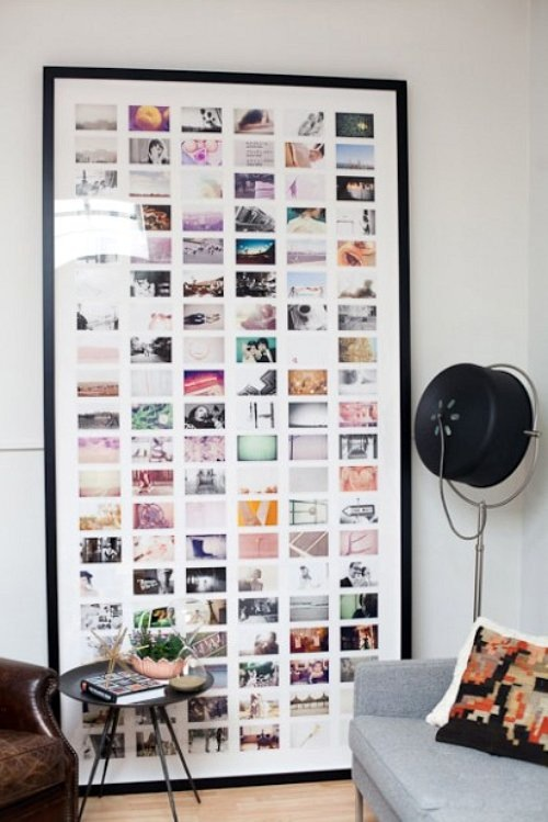 home decor photos montage collage framed