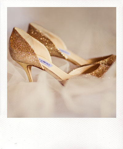 jimmy choo shoes heels pumps gold glitter holiday party d'orsay