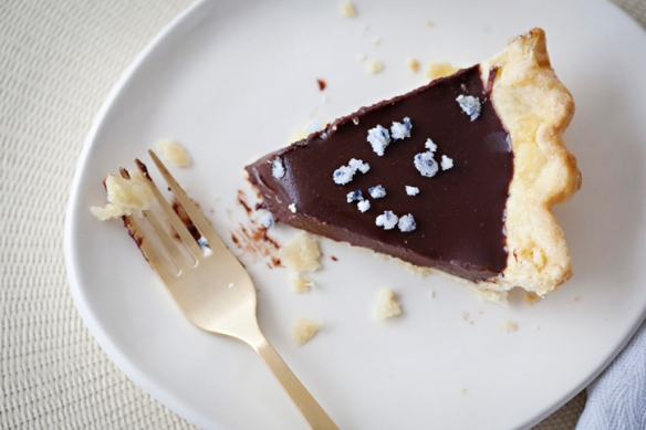 chocolate lavender pie recipe dessert