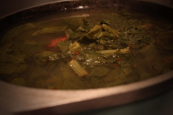 mustard greens collard new years soul food