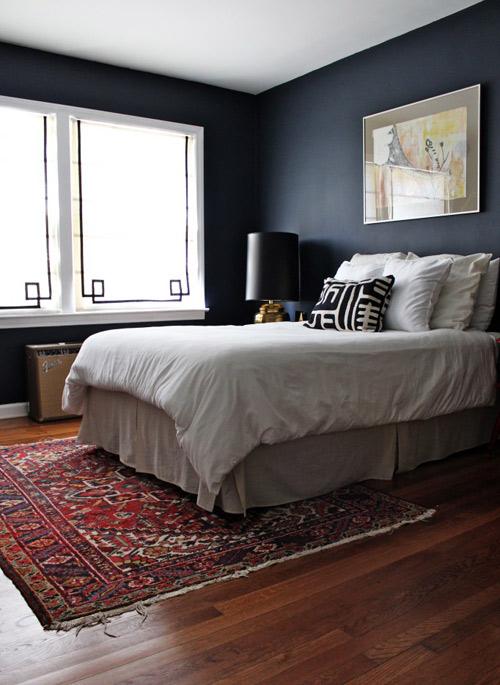 bedroom makeover paint dark walls decor remodel color