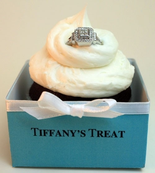 tiffany's tiffany box turquoise cupcake engagement ring glamorous unique ideas proposal