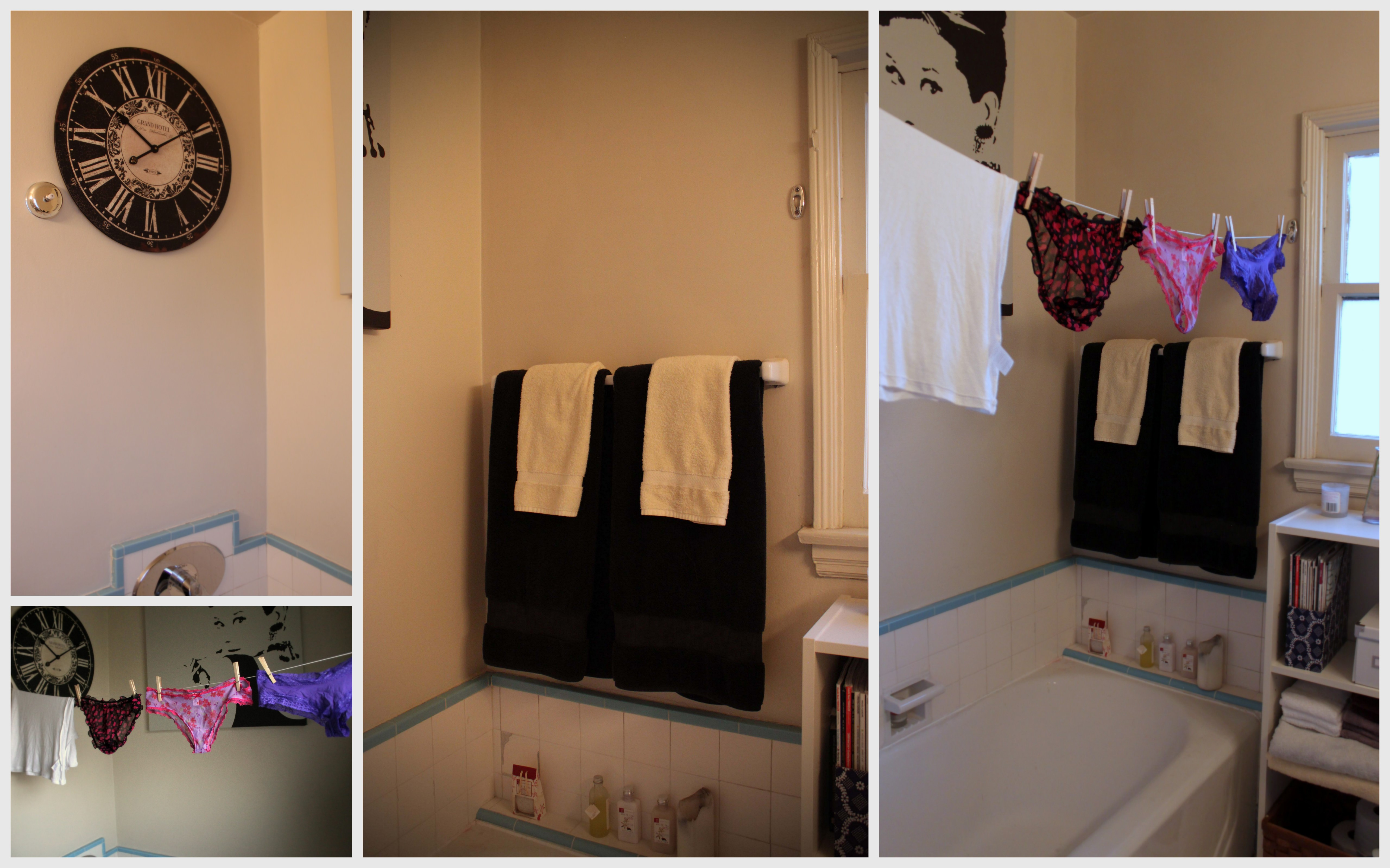 Indoors Indoor Clothing Line Bathroom Delicate Air Dry Apartment Life  Living Small Space Maximize