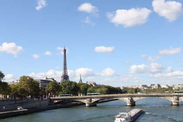 eiffel tower, tour eiffel, paris, france, seine river, riverboat, europe, travel, vacation