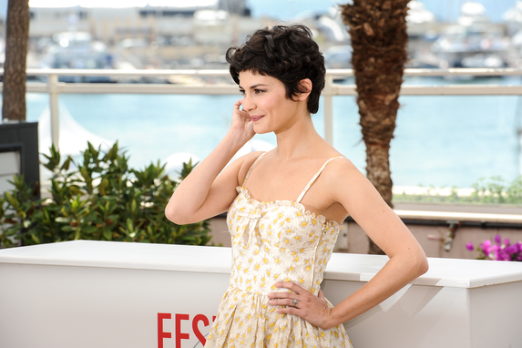 audrey tautou, cannes festival 2013, master of ceremony, interview, amelie, cannes, france, THERESE DESQUEYROUX, french cinema, film festival