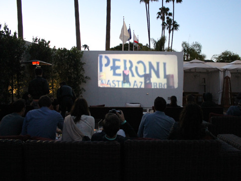 poolside cinema, mr c beverly hills, summer nights, los angeles, la confidential, hotel, classic movies, free things to do